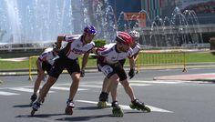 Barakaldo Digital: Barakaldo acoge a patinadores de velocidad y aficionados en el I Día del Patín de Bizkaia