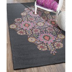 Shop nuLOOM  SPVE31A Charcoal Hand Looped Joleen Medallion Area Rug at ATG Stores. Browse our area rugs, all with free shipping and best price guaranteed.