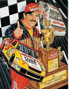 """Congrats to Terry on being the Grand Marshal for this weekend's race in Darlington! Nascar Race Cars, Sports Car Racing, Auto Racing, Terry Labonte, Holden Australia, Pin Up, Motorcycle Logo, Speed Racer, Racing News"