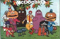 mcdonalds from the 70s | McDonalds ! | KULA acb BLOG