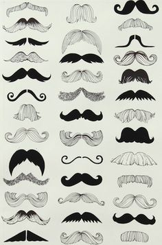 Where's My 'Stache?    For doodles...