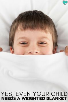 4 Simple Reasons to Get Your Child a Weighted Blanket #weightedblanket #autism #disabilities #sensoryprocessingdisorder #parenting