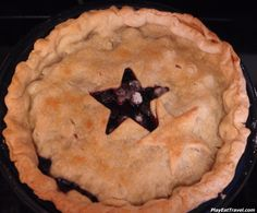 #Blueberry #pie in #fall for me.  #food #foodie #eat #meal #dish