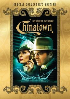 Chinatown is a 1974 Crime, Drama film directed by Roman Polanski and starring Jack Nicholson, Faye Dunaway. Faye Dunaway, Jack Nicholson, Roman Polanski, Top Movies, Movies To Watch, Movies Free, Love Movie, Movie Tv, Chinatown Film