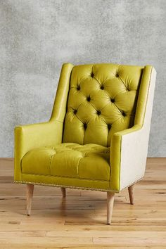 Leather Booker Armchair - anthropologie.com