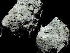 Auch auf Farbaufnahmen ist Rosettas Komet 67P grau . . . http://grenzwissenschaft-aktuell.blogspot.de/2014/12/auch-auf-farbaufnahmen-ist-rosetta.html . . .  ESA/MPS/UPD/LAM/IAA/SSO/INTA/UPM/DASP/IDA