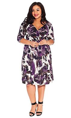IGIGI Women's Plus Size Alex Dress in Violet Shadow   IGIGI Women's Plus Size Alex Dress in Violet Shadow A quintessential piece for every woman's closet. Dress the Alex Dress in Violet Shadow up in heels and jewels or dress it down with wedges and jean jacket. This piece is truly a must-have for the quality, cut, and versatility alone.  http://www.effyourbeautystandarts.com/igigi-womens-plus-size-alex-dress-in-violet-shadow/