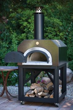 want a patio pizza oven!