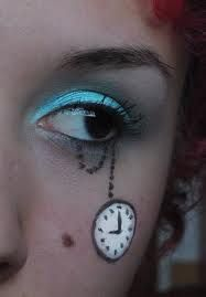 Without the blue eyeshadow maybe doing that for SteamPunk costume!