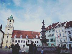 Bratislava, Slovakia Bratislava Slovakia, San Francisco Ferry, Notre Dame, Places To Visit, Building, Travel, Voyage, Buildings, Viajes