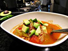 ThreeDietsOneDinner - Paleo Recipes to fit every diet - Paleo Weight Loss - Optimal Nutrition: PALEO TORTILLA SOUP