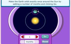 Earth, Sun and Moon - 9-11 year olds - Topmarks