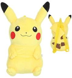 Pokemon Mochila De Peluche Pikachu Videojuego Nintendo Wii