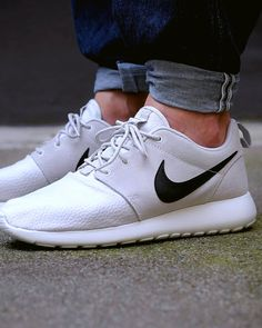 Nike Roshe Run Suede: Light Grey (just bought these)