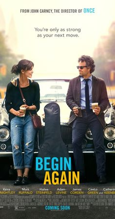 Begin Again - IMDb - I don't really care for Keira Knightley. But it is extremely easy to watch Mark Ruffalo for two h - See Movie, Movie List, Movie Tv, Movies Showing, Movies And Tv Shows, Night Film, Bon Film, Good Movies To Watch, Movies Worth Watching