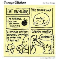 Famous Cat Inventions