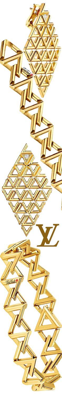 Louis Vuitton Jewelry, Louis Vuitton Accessories, Micah Gianneli, Jewelry Accessories, Bling, Chain, Earrings, Bracelet, Gold