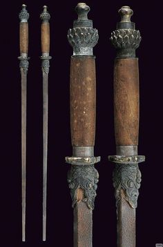 Archive for Chinese History, Culture, & Creativity — Chinese Rod Swords Swords And Daggers, Knives And Swords, Chinese Weapons, Armas Ninja, 3d Cnc, Medieval Weapons, Arm Armor, Fantasy Weapons, Cold Steel