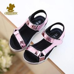 Pink sandals #girlsfashion #summer #bowtainyc www.bowtainyc.com for all your kids needs and custom made pieces