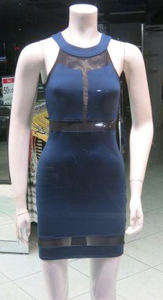 Donna Mizani http://www.boutiqueflirt.com/donna-mizani-halter-panel-dress-indigo/