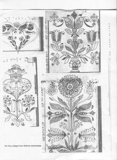 betty alderman quilt designs | folk art motifs used by betty alderman for inspiration in making ...