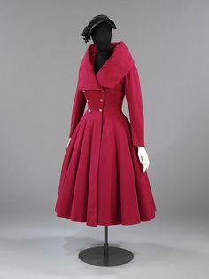Coat  Christian Dior, 1947 Coat   Hardy Amies   V&A