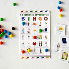 @MinisteringPrintables posted to Instagram: 🤷♀️What kid doesn't love Bingo? I mean, it involves treats, and competition, and treats...yeah, basically it's the M&Ms my kids love. But still. We're playing, learning, and making memories. So get your Doctrine & Covenants game today by clicking the link in bio. 😘And please tag a friend who could use this. Thank you! ❤ Primary Activities, Church Activities, Joseph Smith History, Lds Youth, Intense Games, Doctrine And Covenants, Lds Primary, Thing 1, Goal Planning