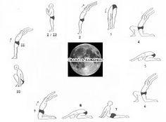 yoga  meditation on pinterest  moon salutation yoga and