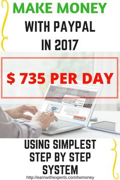 How to make money with payapl ? Here is one f the best answer which will help you to make money online fast and grow your online income now. Click the Link for more >>>