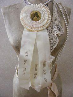 Kansas County Fairs...Horse Prize Ribbons