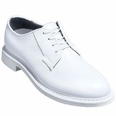 Bates Boots E00131 Mens White Leather Goodyear Welt Dress Shoes 131