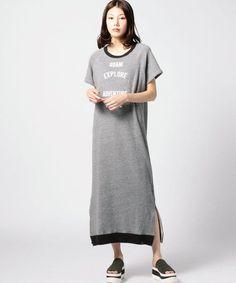ロゴプリントワンピース ワンピース FONT LAB ファッション通販 ROSE BUD(ローズバッド)公式サイト