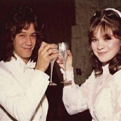 Today in 1981, Eddie Van Halen married Valerie Bertinelli