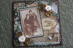 Layout: Vintage Family Page