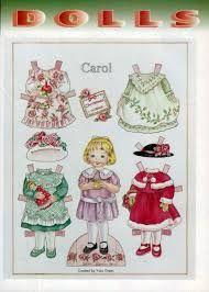 Resultado de imagen para albumes picasa paper dolls