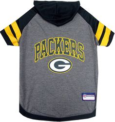 Pets First Green Bay Packers Hoodie T-Shirt ** Discover this special dog product, click the image : Dog shirts