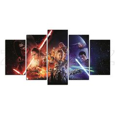 Star Wars Space Opera Science Fiction Canvas Print Gift 5