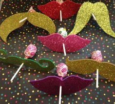 12 Glitter Mustache and Lips - Party Favor Photo Prop