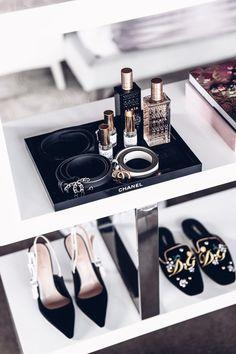 Chanel jewelry tray