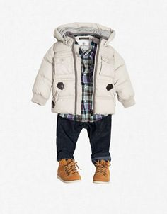 Adorable outfit for a little boy.