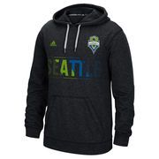 Seattle Sounders FC adidas Aeroband climawarm Ultimate Hoodie - Gray