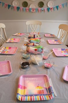 Serving Pink Lemonade: Baking Birthday Party