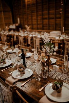 Table Decor Rustic Macrame Bottle Flowers Long Tables Whimsical Boho Wedding Camilla Andrea Photography #WeddingTable #WeddingDecor #RusticWedding #Macrame #BottleFlowers #WeddingFlowers #LongTables #Wedding