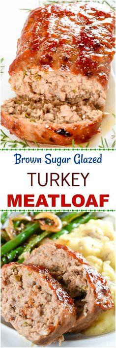 Brown Sugar Turkey Meatloaf