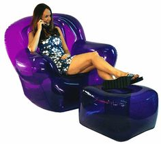 An inflatable chair:   29 Things All Late-'90s Teen Girls Desperately Wanted For Christmas