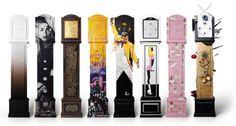 #BlondAmsterdam, #DoutzenKroes, Fincent, Henk Schiffmacher, Jonnie & Therese Boer, Mart Visser, #PietParis en Selwyn Senatori ontwierpen ter ere van het 10-jarig bestaan van dance4life allen een Dutch Design Cloggy Clock om geld op te halen voor het goede doel. Vanaf vandaag kan je je eigen #CloggyClock ontwerpen en laten produceren! #clock #klok #interior #design Grandfather Clock, Doutzen Kroes, Blond Amsterdam, Bookends, House, Home Decor, Decoration, Design, Pendulum Clock