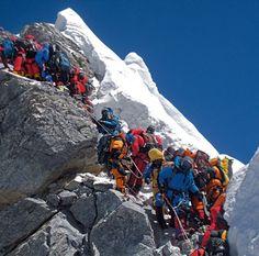 """Escalada al Everest, el """"techo"""" del mundo"""