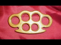 wooden knuckle duster