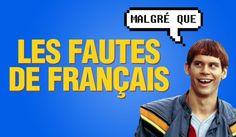 [VIDEO] Top 8 des fautes de français qui arrachent loreille