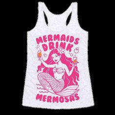 "This funny mermaid shirt is perfect for mermaids who love their brunch, waffles, bacons, mimosas, and of course ""mermaids love mermosas!"" This funny brunch shirt is great for fans of mermaids shirts, mimosa, mermaid puns, brunch shirts, breakfast quotes and brunch humor. Every little mermaid should be ready to toss a few mimosas back on Sunday brunch because breakfast food cures everything."